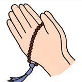 数珠は宗派共通のものを